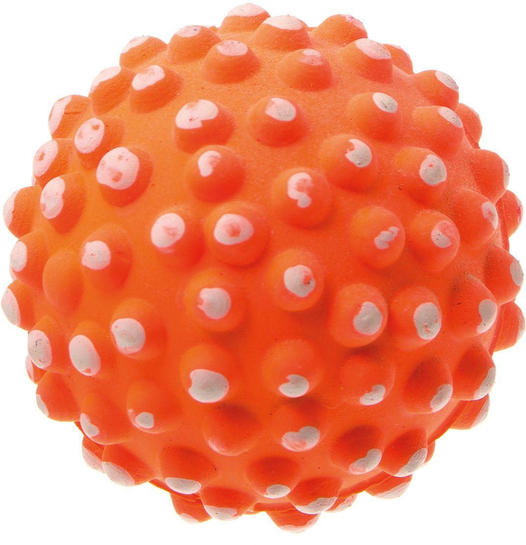 Мяч V.I.Pet Коралл, цвет: оранжевый, 72 мм. 20-112820-1128