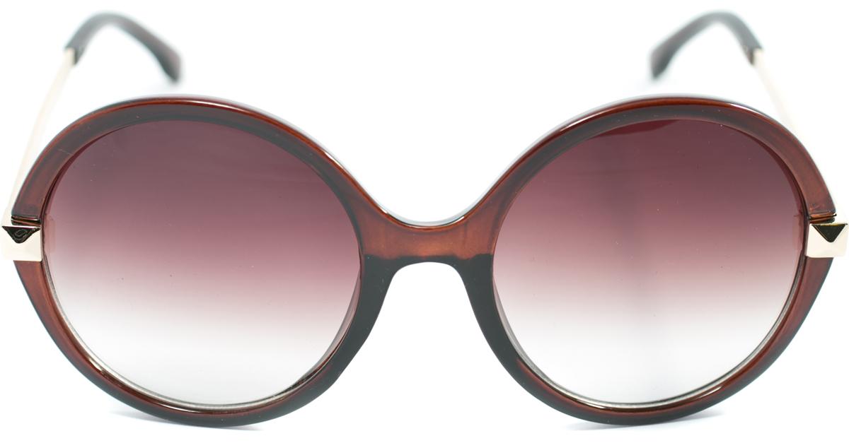 Очки солнцезащитные женские Mitya Veselkov, цвет: коричневый. OS-115OS-115