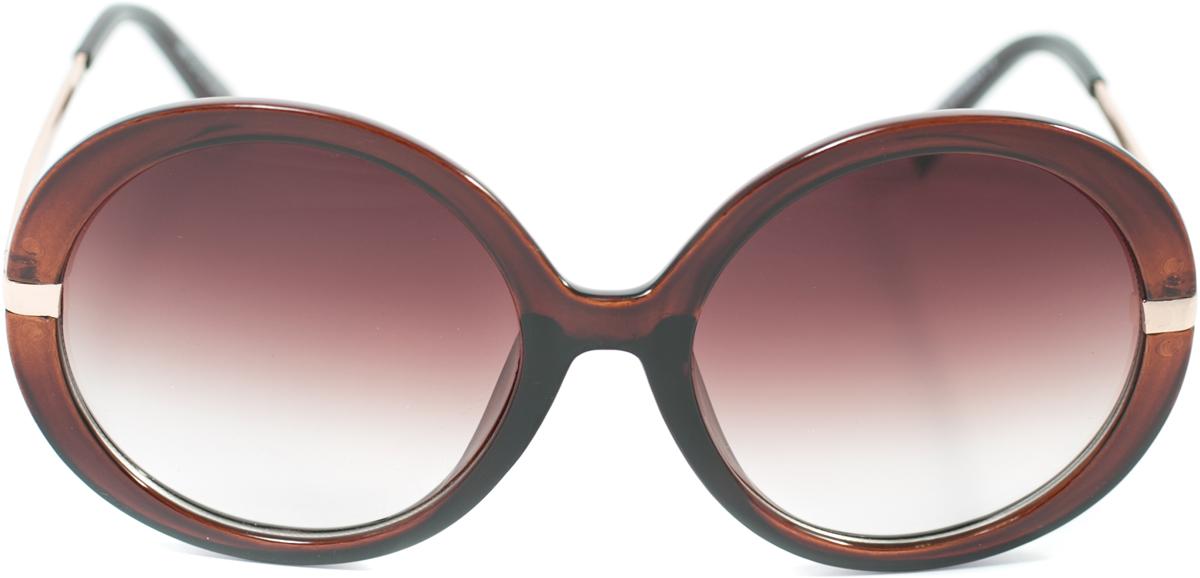 Очки солнцезащитные женские Mitya Veselkov, цвет: коричневый. OS-123OS-123