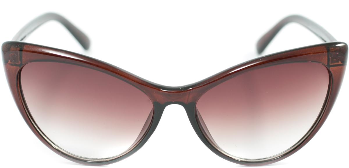Очки солнцезащитные женские Mitya Veselkov, цвет: коричневый. OS-168OS-168Прекрасные антибликовые очки Mitya Veselkov, станут прекрасным и стильным аксессуаром для вас и защитят от УФ лучей. Они помогут глазу более четко распознать картинку, засвеченную солнечными лучами, при этом скорректируют все возникшие искажения.
