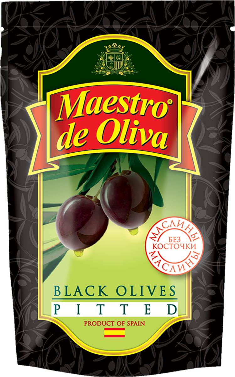 Maestro de Oliva Маслины без косточки, 170 г