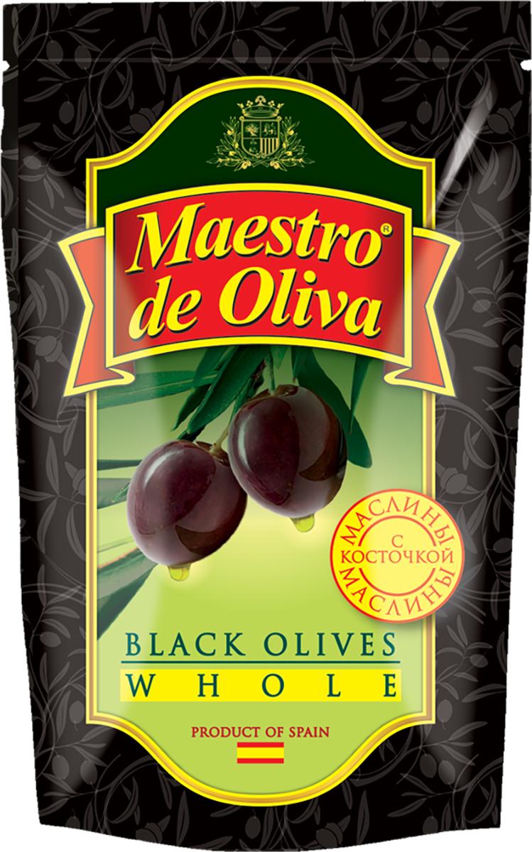 Maestro de Oliva Маслины c косточкой, 170 г0710081/2