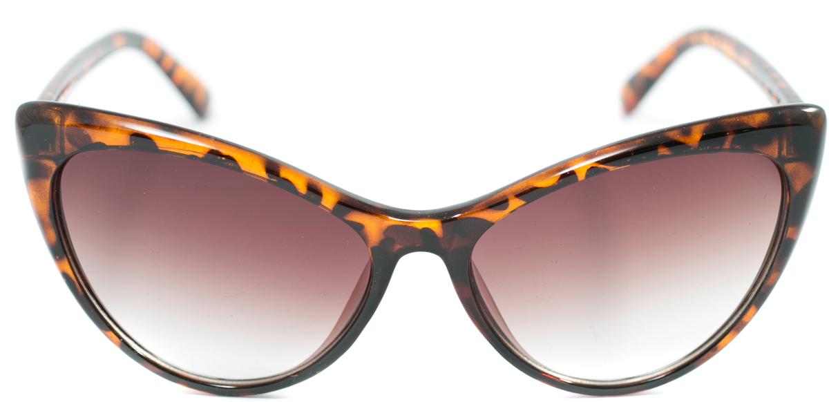 Очки солнцезащитные женские Mitya Veselkov, цвет: коричневый. OS-169OS-169Прекрасные антибликовые очки Mitya Veselkov, станут прекрасным и стильным аксессуаром для вас и защитят от УФ лучей. Они помогут глазу более четко распознать картинку, засвеченную солнечными лучами, при этом скорректируют все возникшие искажения.