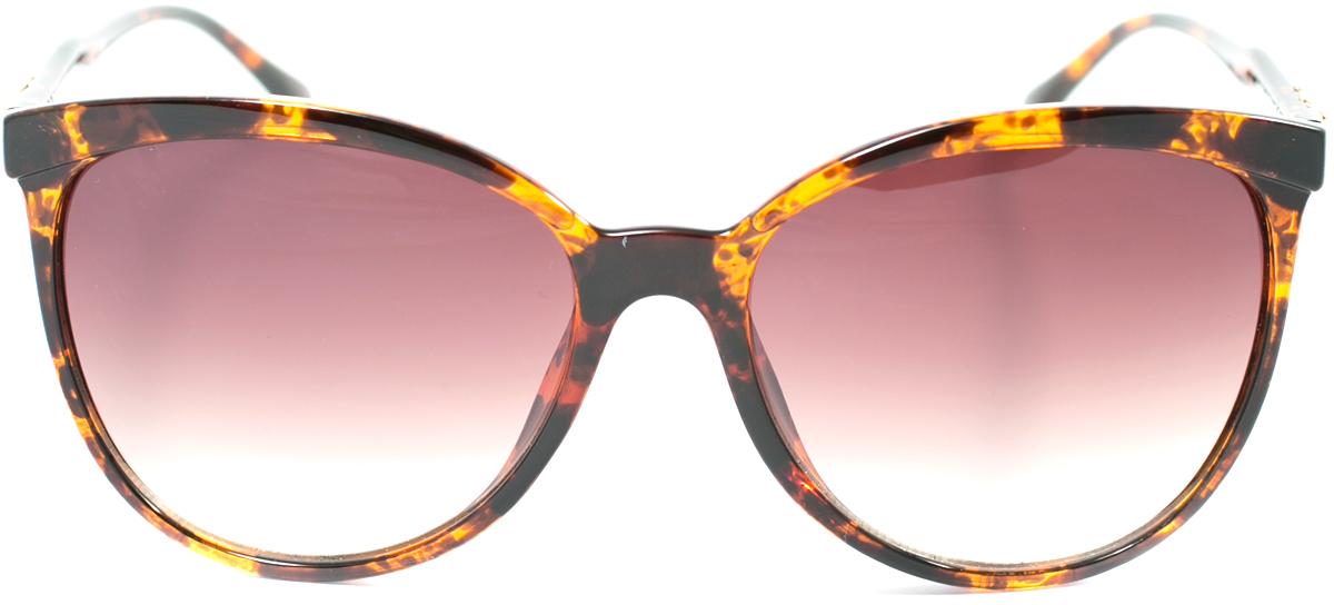 Очки солнцезащитные женские Mitya Veselkov, цвет: коричневый. OS-173OS-173Прекрасные антибликовые очки Mitya Veselkov, станут прекрасным и стильным аксессуаром для вас и защитят от УФ лучей. Они помогут глазу более четко распознать картинку, засвеченную солнечными лучами, при этом скорректируют все возникшие искажения.
