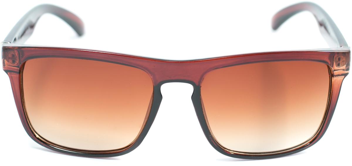 Очки солнцезащитные женские Mitya Veselkov, цвет: коричневый. OS-182OS-182Прекрасные антибликовые очки Mitya Veselkov, станут прекрасным и стильным аксессуаром для вас и защитят от УФ лучей. Они помогут глазу более четко распознать картинку, засвеченную солнечными лучами, при этом скорректируют все возникшие искажения.