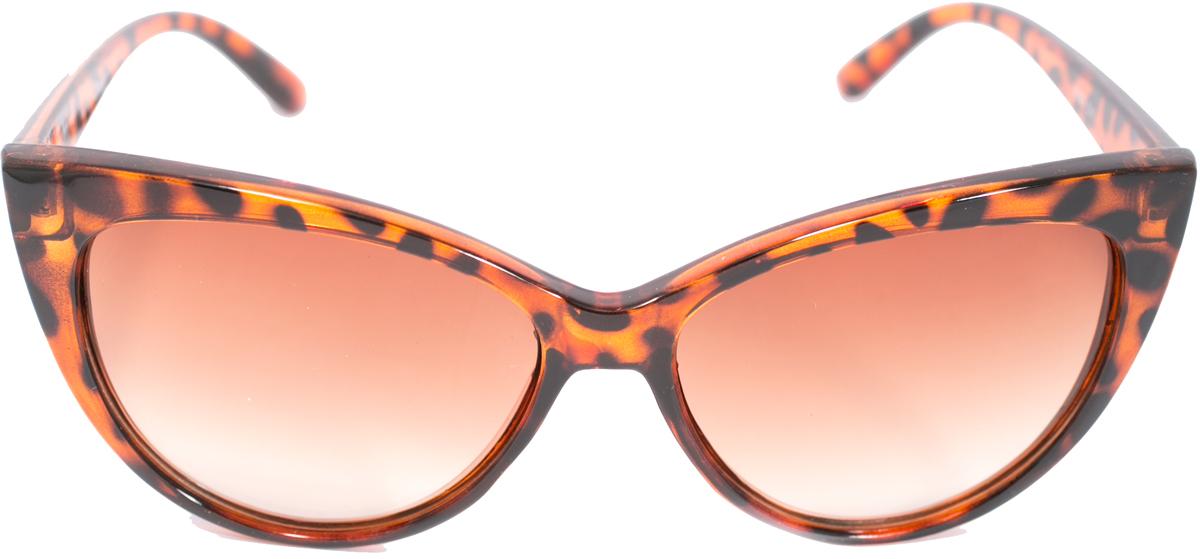 Очки солнцезащитные женские Mitya Veselkov, цвет: коричневый. OS-219OS-219Прекрасные антибликовые очки Mitya Veselkov, станут прекрасным и стильным аксессуаром для вас и защитят от УФ лучей. Они помогут глазу более четко распознать картинку, засвеченную солнечными лучами, при этом скорректируют все возникшие искажения.