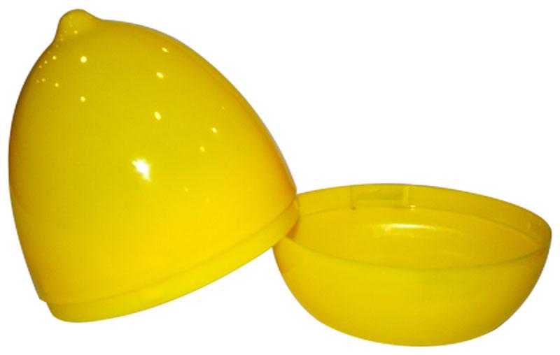 Емкость для лимона Plastic Centre, цвет: желтыйПЦ1020ЛМНКонтейнер состоит из корпуса и крышки в форме лимона. Яркий и привлекательный дизайн прекрасно подойдет как для хранения в холодильнике, так и для подачи на стол. Завинчивающаяся крышка плотно соединяет две половинки корпуса, предохраняя от незапланированного раскрытия. Лимон можно хранить как целиком, так и нарезанный на дольки.