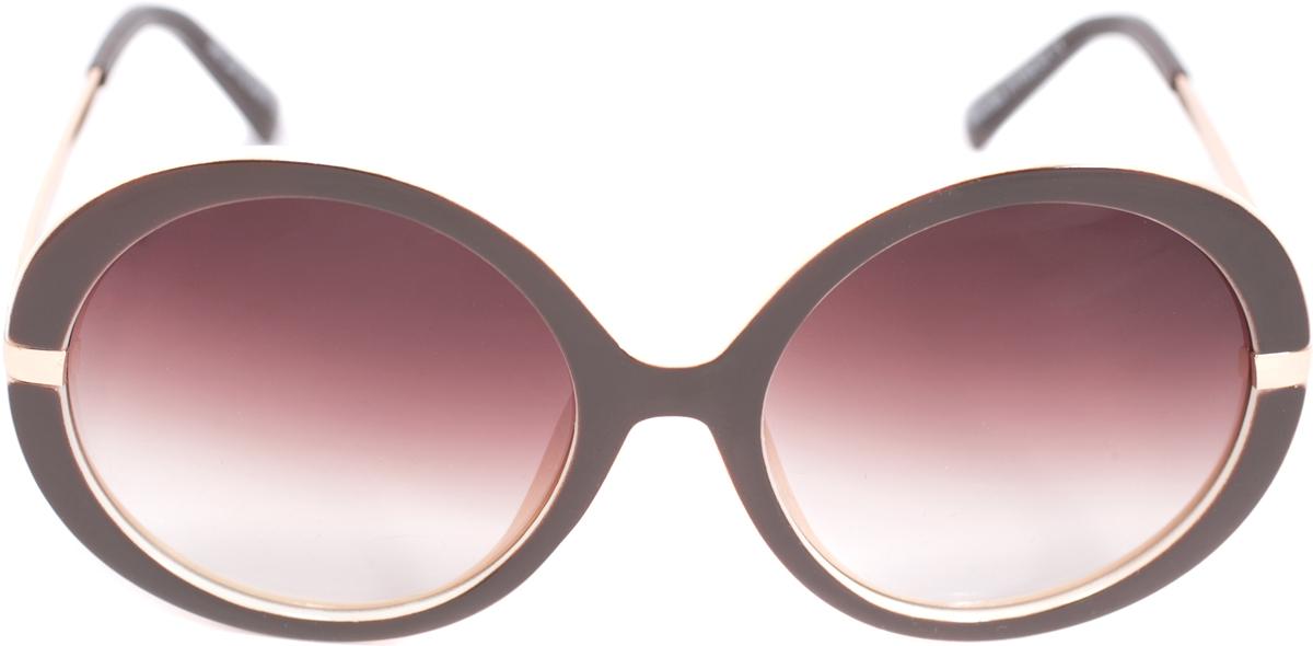 Очки солнцезащитные женские Mitya Veselkov, цвет: коричневый. OS-222OS-222Прекрасные антибликовые очки Mitya Veselkov, станут прекрасным и стильным аксессуаром для вас и защитят от УФ лучей. Они помогут глазу более четко распознать картинку, засвеченную солнечными лучами, при этом скорректируют все возникшие искажения.