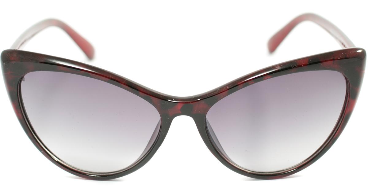 Очки солнцезащитные женские Mitya Veselkov, цвет: темно-красный. OS-167OS-167Прекрасные антибликовые очки Mitya Veselkov, станут прекрасным и стильным аксессуаром для вас и защитят от УФ лучей. Они помогут глазу более четко распознать картинку, засвеченную солнечными лучами, при этом скорректируют все возникшие искажения.
