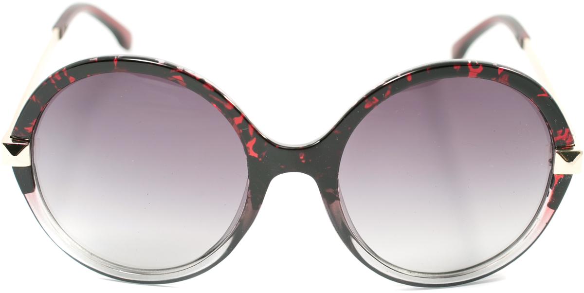 Очки солнцезащитные женские Mitya Veselkov, цвет: черный, бордовый. OS-120OS-120