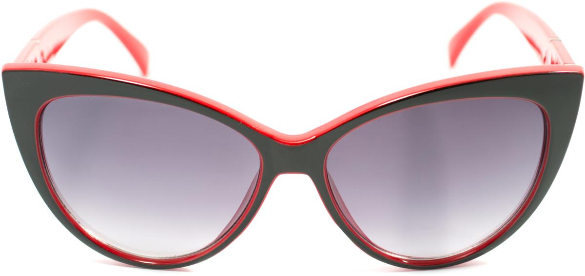 Очки солнцезащитные женские Mitya Veselkov, цвет: черный, красный. OS-170OS-170Прекрасные антибликовые очки Mitya Veselkov, станут прекрасным и стильным аксессуаром для вас и защитят от УФ лучей. Они помогут глазу более четко распознать картинку, засвеченную солнечными лучами, при этом скорректируют все возникшие искажения.