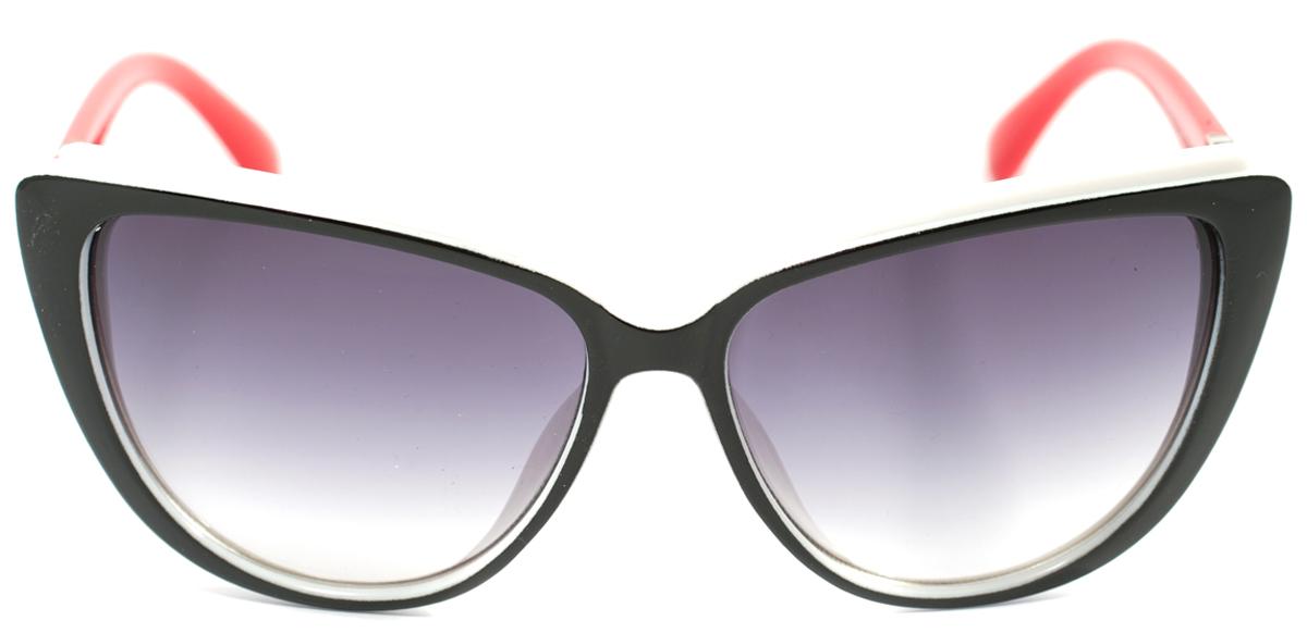 Очки солнцезащитные женские Mitya Veselkov, цвет: черный, красный. OS-171OS-171Прекрасные антибликовые очки Mitya Veselkov, станут прекрасным и стильным аксессуаром для вас и защитят от УФ лучей. Они помогут глазу более четко распознать картинку, засвеченную солнечными лучами, при этом скорректируют все возникшие искажения.