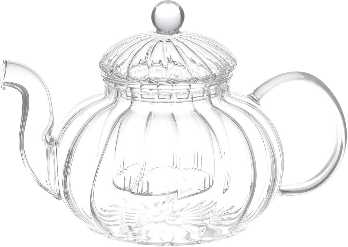 Чайник заварочный Hunan Provincial Лотос, 600 мл15041Заварочный чайник Hunan Provincial Лотос изготовлен из стекла. Пить чай из такого чайника сплошное удовольствие! Полностью прозрачная форма позволяет любоваться цветом своего любимого напитка. Устойчивая основа, широкий носик, удобная ручка - все выполнено идеально для достижения полного комфорта в использовании. Внутреннее сито выполнено на 100% из стекла. После того, как чай заварился, колбу лучше всего достать из чайника, для того чтобы чайный лист не перезаваривался. Диаметр чайника (по верхнему краю): 6,8 см. Высота чайника (без учета крышки): 8 см. Высота чайника (с учетом крышки): 12 см. Высота фильтра: 6 см.