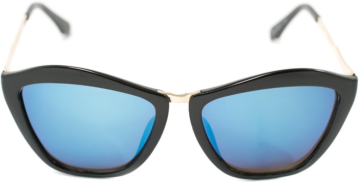Очки солнцезащитные женские Mitya Veselkov, цвет: черный. OS-153OS-153Прекрасные антибликовые очки Mitya Veselkov, станут прекрасным и стильным аксессуаром для вас и защитят от УФ лучей. Они помогут глазу более четко распознать картинку, засвеченную солнечными лучами, при этом скорректируют все возникшие искажения.