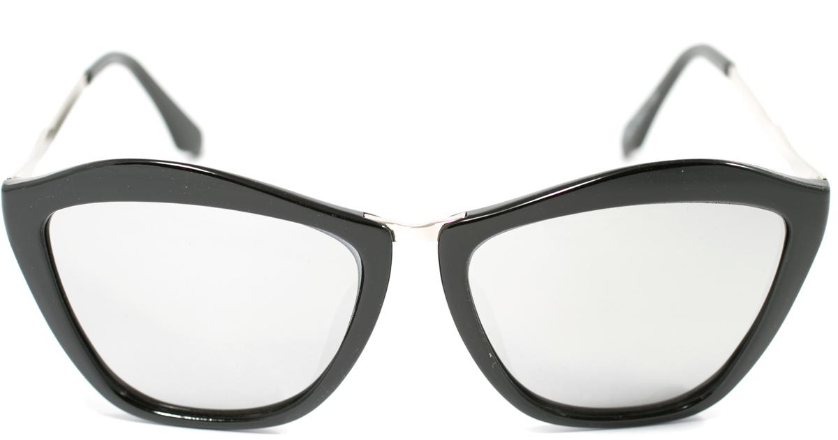 Очки солнцезащитные женские Mitya Veselkov, цвет: черный. OS-156OS-156Прекрасные антибликовые очки Mitya Veselkov, станут прекрасным и стильным аксессуаром для вас и защитят от УФ лучей. Они помогут глазу более четко распознать картинку, засвеченную солнечными лучами, при этом скорректируют все возникшие искажения.