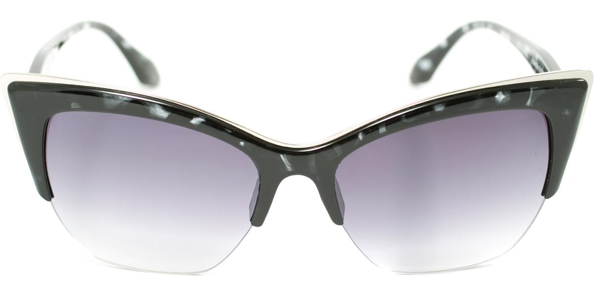 Очки солнцезащитные женские Mitya Veselkov, цвет: черный. OS-165OS-165Прекрасные антибликовые очки Mitya Veselkov, станут прекрасным и стильным аксессуаром для вас и защитят от УФ лучей. Они помогут глазу более четко распознать картинку, засвеченную солнечными лучами, при этом скорректируют все возникшие искажения.