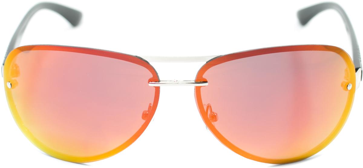 Очки солнцезащитные с поляризацией Mitya Veselkov, цвет: серебристый, красный. OS-179OS-179Прекрасные антибликовые очки Mitya Veselkov, станут прекрасным и стильным аксессуаром для вас и защитят от УФ лучей. Они помогут глазу более четко распознать картинку, засвеченную солнечными лучами, при этом скорректируют все возникшие искажения.