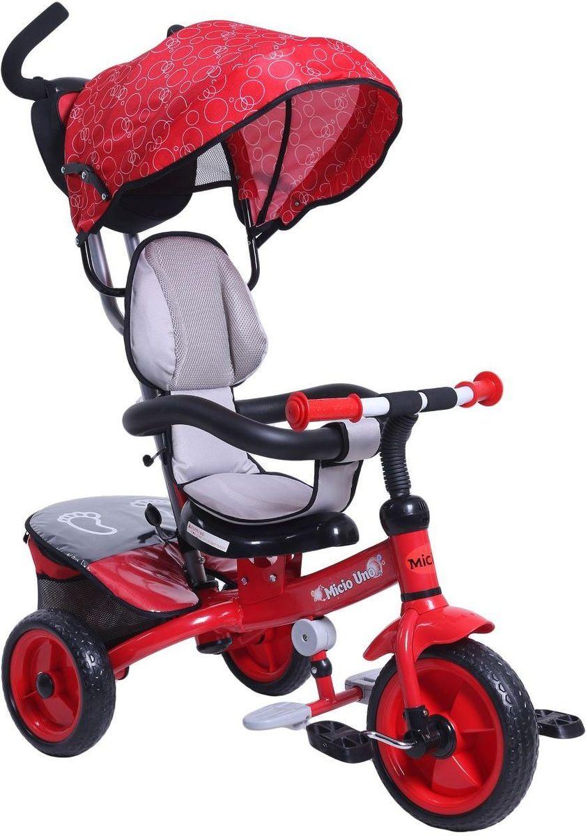 Micio Велосипед детский трехколесный Micio Uno 2017 цвет красный