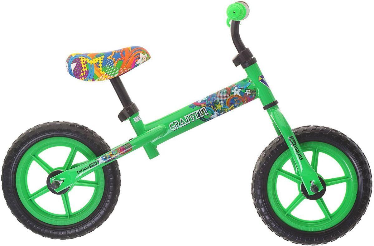 Graffiti Беговел детский Furious 2017 цвет зеленый