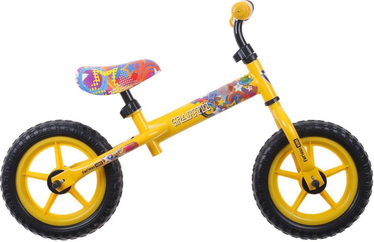 Graffiti Беговел детский Furious 2017 цвет желтый