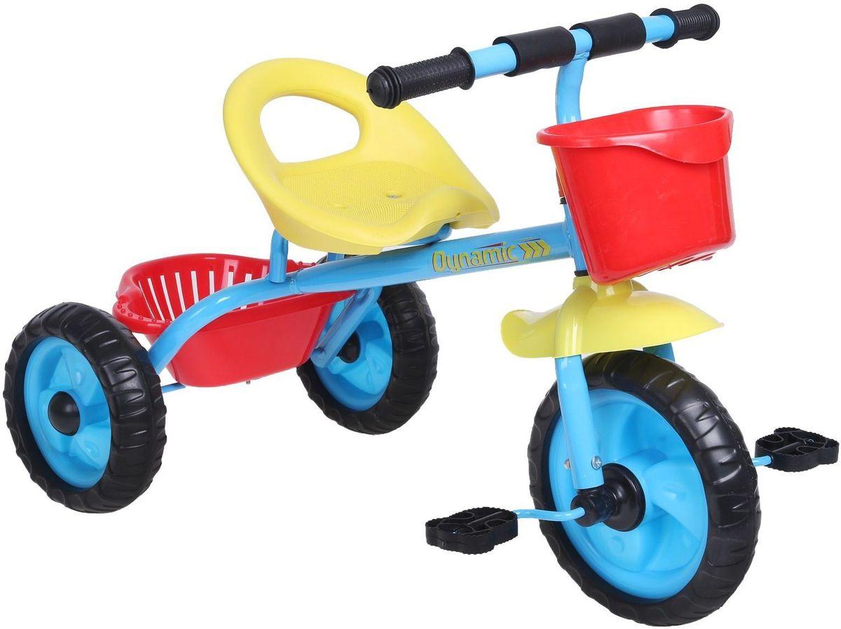 Micio Велосипед детский трехколесный Micio Dynamic 2017 цвет синий1723818Удобный, надёжный, стильный трёхколёсный велосипед — находка для начинающего спортсмена. Прочная стальная рама и пластиковые колёса выдержат любые испытания во время заездов в парке или во дворе. Широкое сиденье со спинкой сделает поездку комфортной. А для игрушек и других необходимых велосипедисту предметов предусмотрена удобная пластиковая корзинка. Размеры Длина от заднего колеса до переднего: 73 см. Расстояние между задними колёсами: 42 см. Высота от руля до пола: 51 см. Высота от седла до пола: 32 см. Расстояние от середины седла до дальней педали: 47 см. Масса нетто: 2,6 кг. Максимальная нагрузка: 30 кг.