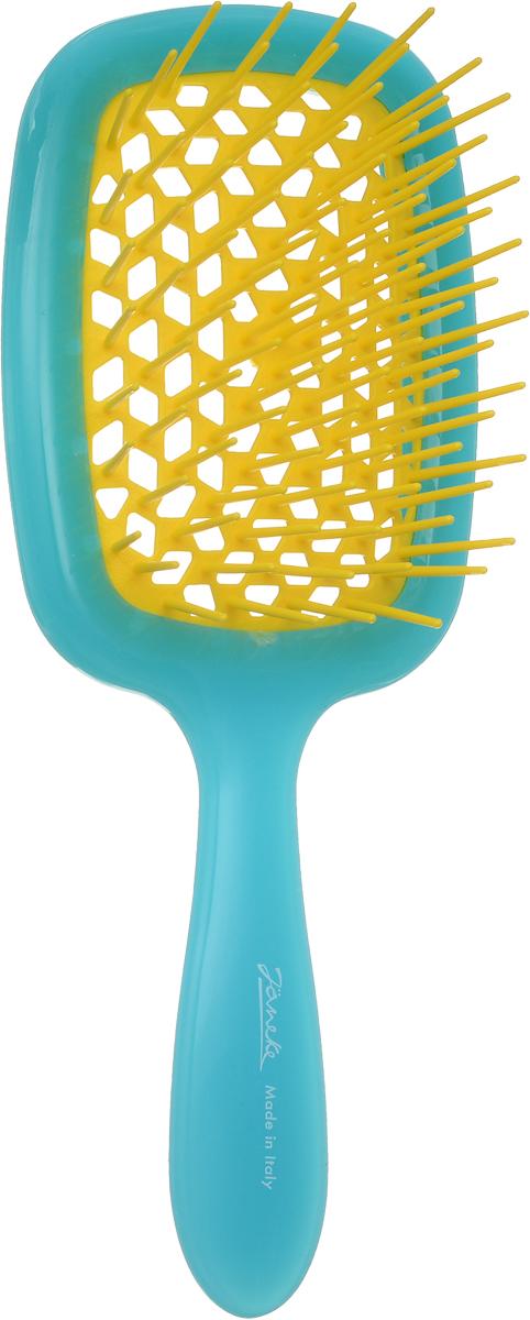 Janeke Щетка для волос пластиковая, 86SP226 TG810692Марка Janeke – мировой лидер по производству расчесок, щеток, маникюрных принадлежностей, зеркал и косметичек. Марка Janeke, основанная в 1830 году, вот уже почти 180 лет поддерживает непревзойденное качество своей продукции, сочетая новейшие технологии с традициями старых миланских мастеров. Все изделия на 80% производятся вручную, а инновационные технологии и современные материалы делают продукцию марки поистине уникальной. Стильный и эргономичный дизайн, яркие цветовые решения – все это приносит истинное удовольствие от использования аксессуаров Janeke. Цветная линия - это расчески и щетки, изготовленные из высококачественного пластика. Цвета меняются два раза в год в соответствии с последними трендами моды.