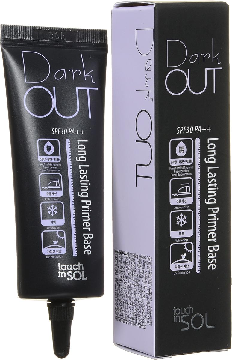 Touch In Sol Dark Long LastingОснова под макияж осветляющая SPF PA30++, 25млУТ-00000620Праймер-база под макияж выравнивает тон лица, устраняя серость и покраснения. Цветные капсулы корректируют тон кожи, а текстура разработана таким образом, чтобы макияж держался на протяжении всего дня. Тройная формула базы заботится о коже защищая ее от УФ-лучей, отбеливая и разглаживая мелкие морщинки.