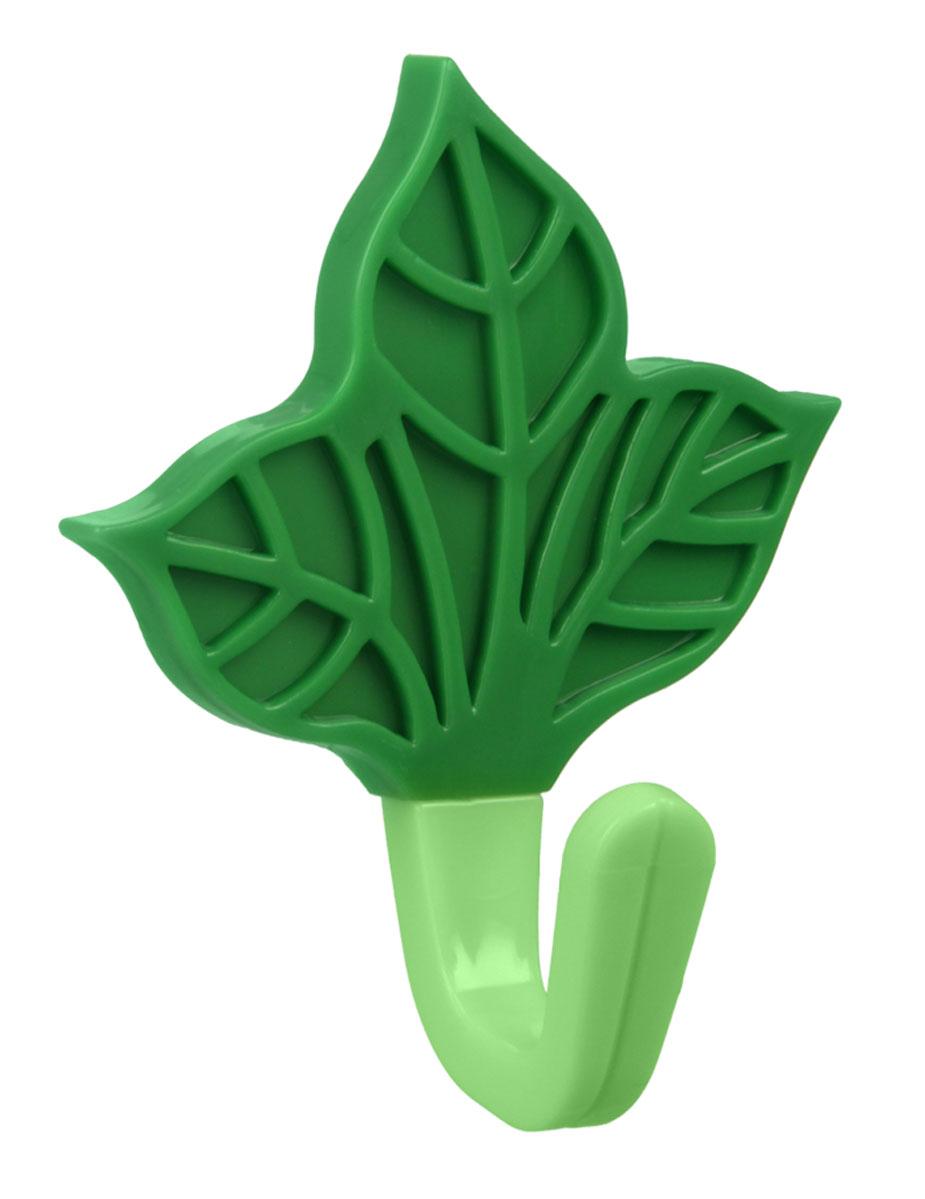 Крючок Metaltex Лист, 5,5 х 8 х 4 см29.05.30Крючок Metaltex Лист выполнен из пластика. Крючок с помощю липкого слоя приклеивается к гладкой и чистой поверхности. На него можно вешать полотенца или любые другие вещи. Он отлично дополнят ваш интерьер.