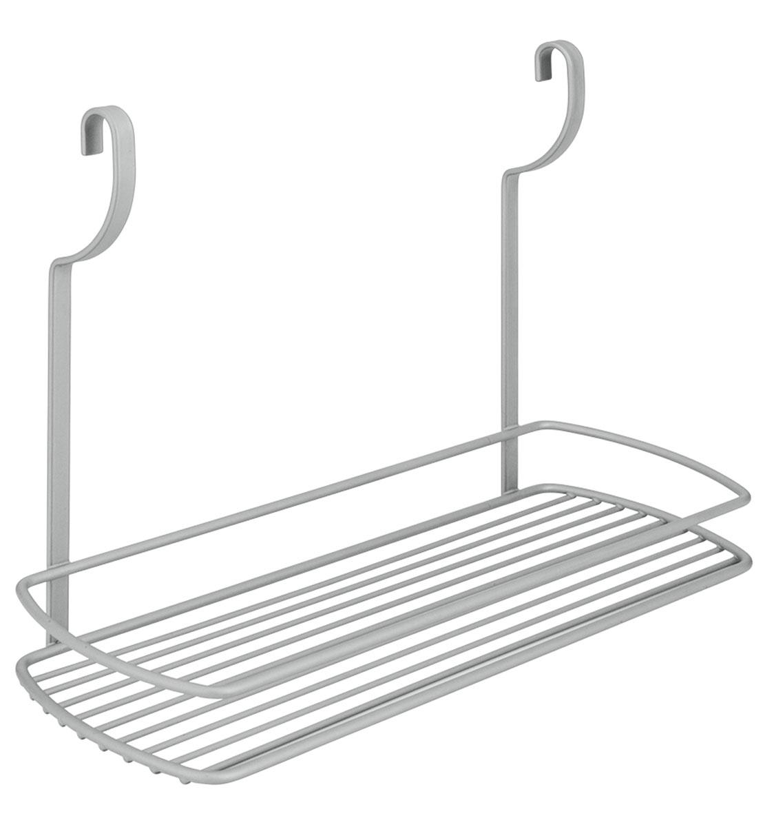 Полка навесная Metaltex City, 35 х 13 х 26 см35.07.10Навесная полка Metaltex City изготовлена из стали и покрыта новым полимерным покрытием Frost Polytherm. Такая полка не только экономит место на вашей кухне, но и обеспечивает наглядность, порядок и удобный доступ к кухонным принадлежностям. Современный дизайн делает ее практичным и стильным домашним аксессуаром. Она пригодится для хранения различных кухонных или других принадлежностей, которые всегда будут под рукой. Полка устанавливается на рейлинг с помощь двух крючков. Гарантия производителя на покрытие составляе 3 года.