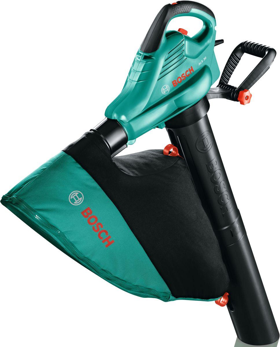 Воздуходувка/пылесос Bosch ALS 30. 06008A1100  bosch als 30 зеленый