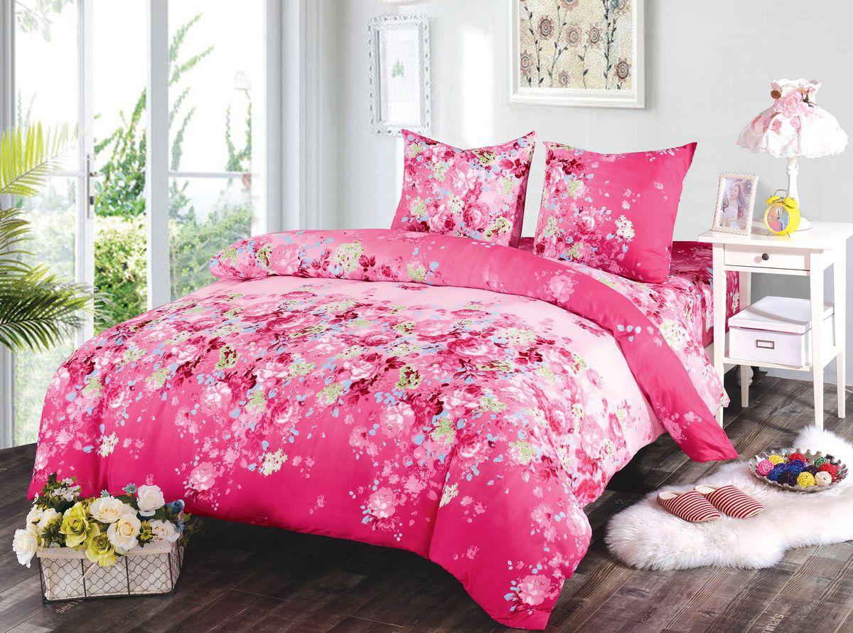 Комплект белья Amore Mio Gracie, 1,5-спальный, наволочки 70x7084487Комплект постельного белья Amore Mio изготовлен из мако-сатина. Нано-инновации позволили открыть новую ткань, которая сочетает в себе широкий спектр отличных потребительских характеристик и невысокой стоимости. Легкая, плотная, мягкая ткань, приятна и обладает эффектом персиковой кожуры. Отлично стирается, гладится, быстро сохнет. Дисперсное крашение великолепно передает качество рисунков и необычайно устойчиво к истиранию. Комплект состоит из пододеяльника, простыни и двух наволочек.