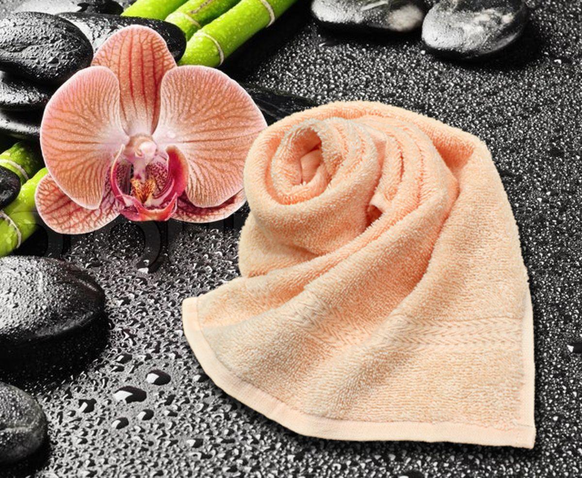 Полотенце Amore Mio GX Classic, цвет: персиковый, 33 х 70 см84506Полотенца Amore Mio Classic - полотенца отличного качества из 100% хлопка. Яркие цвета выполнены качественным красителем BASF из Германии сохраняют насыщенность долгое время. Мягкость и пушистость этих полотенец Вас приятно удивит. Продукция имеет европейский сертификат качества.