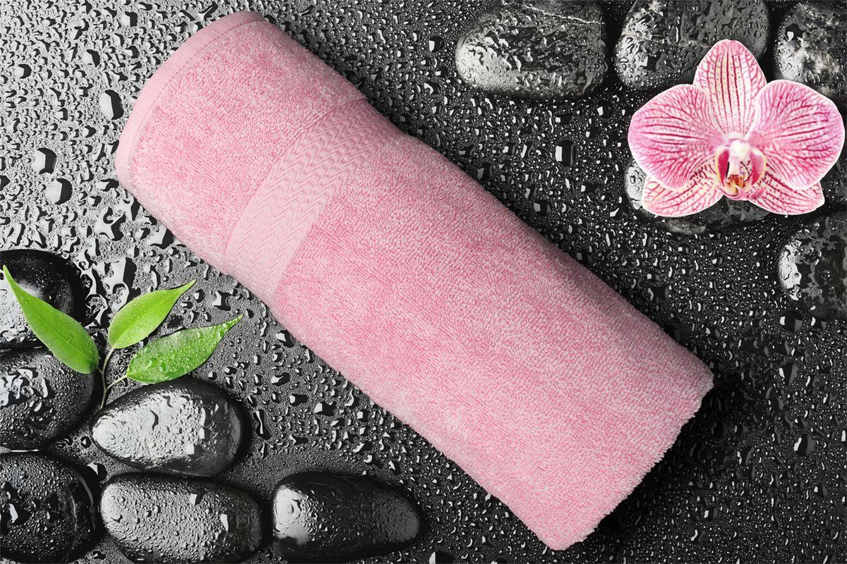 Полотенце Amore Mio GX Classic, цвет: розовый, 70 х 140 см84540Полотенца Amore Mio Classic - полотенца отличного качества из 100% хлопка. Яркие цвета выполнены качественным красителем BASF из Германии сохраняют насыщенность долгое время. Мягкость и пушистость этих полотенец Вас приятно удивит. Продукция имеет европейский сертификат качества.