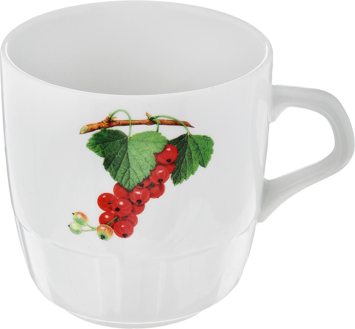 Кружка Фарфор Вербилок Смородина. 58108305810830Красивая фарфоровая кружка способна скрасить любое чаепитие. Посуда из такого материала позволяет сохранить истинный вкус напитка, а также помогает ему дольше оставаться теплым.