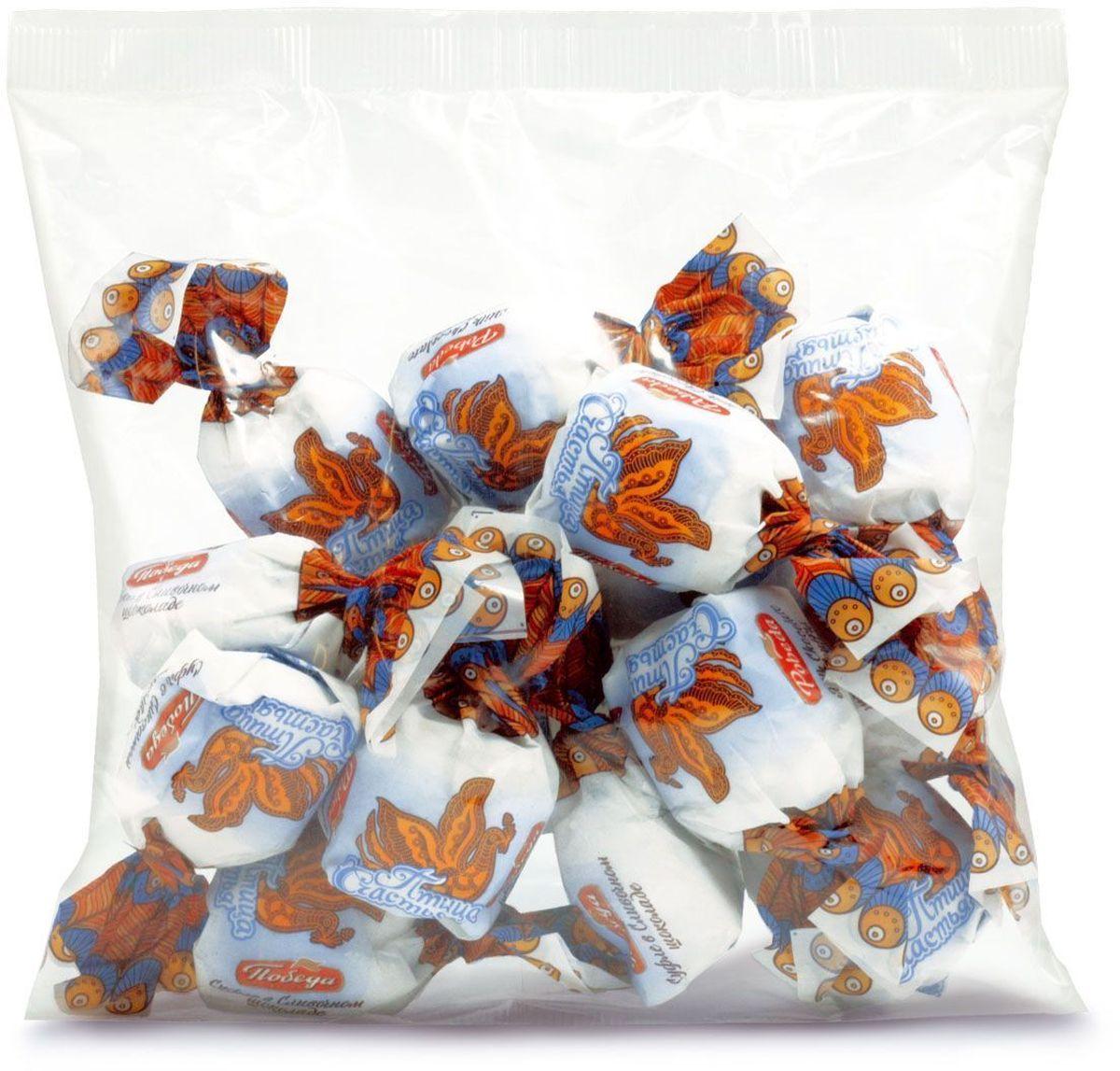 """Победа вкуса """"Птица счастья"""" конфеты суфле в сливочном шоколаде, 200 г 5941"""