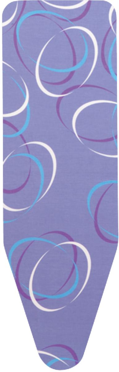 Чехол для гладильной доски Brabanitia, цвет: синий, белый, 110 х 30 см194801Чехол для гладильной доски Brabantia, одна сторона которого выполнена из хлопка, другая - из поролона, предназначен для защиты или замены изношенного покрытия гладильной доски. Чехол снабжен стягивающим шнуром, при помощи которого вы легко отрегулируете оптимальное натяжение чехла и зафиксируете его на рабочей поверхности гладильной доски. В комплекте имеются ключ для натяжения нити и резинка с крючками для лучшей фиксации чехла. Этот качественный чехол обеспечит вам легкое глажение. Размер чехла: 110 см x 30 см.