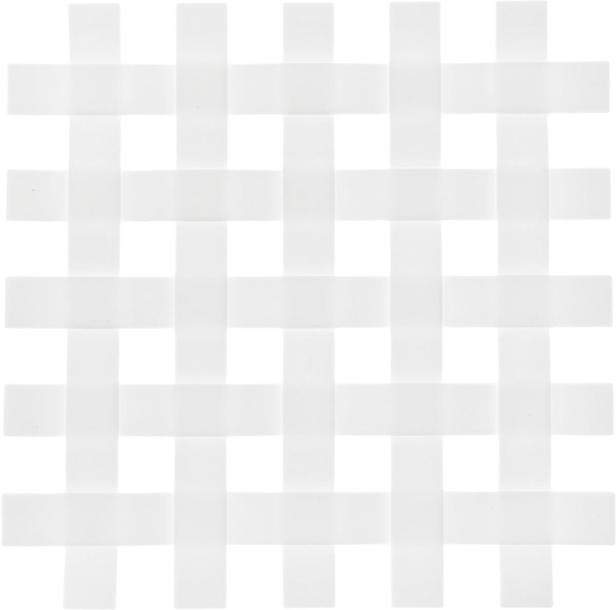 Подставка под горячее Zeller, цвет: белый, 17,2 х 17,2 см27232_белыйПодставка под горячее Zeller в виде решетки изготовлена из силикона. Материал позволяет выдерживать высокие температуры и не скользит по поверхности стола. Каждая хозяйка знает, что подставка под горячее - это незаменимый и очень полезный аксессуар на каждой кухне. Ваш стол будет не только украшен оригинальной подставкой, но и избежит воздействия высоких температур.