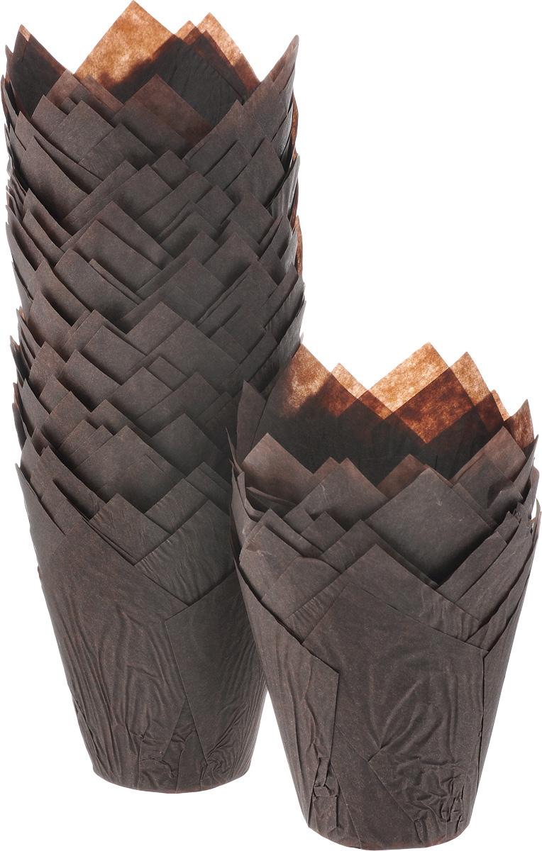 Форма для выпечки ДжиДиСи Тюльпан, бумажная, диаметр 9 см, 200 штБУМ22290Формы для выпечки ДжиДиСи Тюльпан, изготовленные из высококачественной перманентной бумаги, выдерживают высокую температуру. В комплекте 200 форм, выполненных в виде тюльпанов. Если вы любите побаловать своих домашних вкусным и ароматным угощением по вашему оригинальному рецепту, то формы ДжиДиСи Тюльпан как раз то, что вам нужно! Диаметр формы (по верхнему краю): 9 см. Высота формы: 10 см.