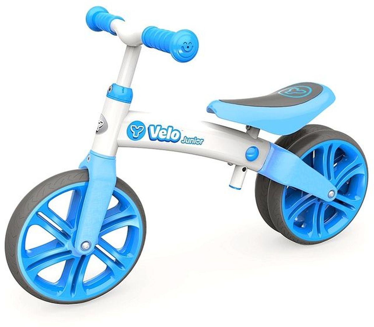 Y-Volution Беговел двухколесный Velo Junior с двойным колесом 100522