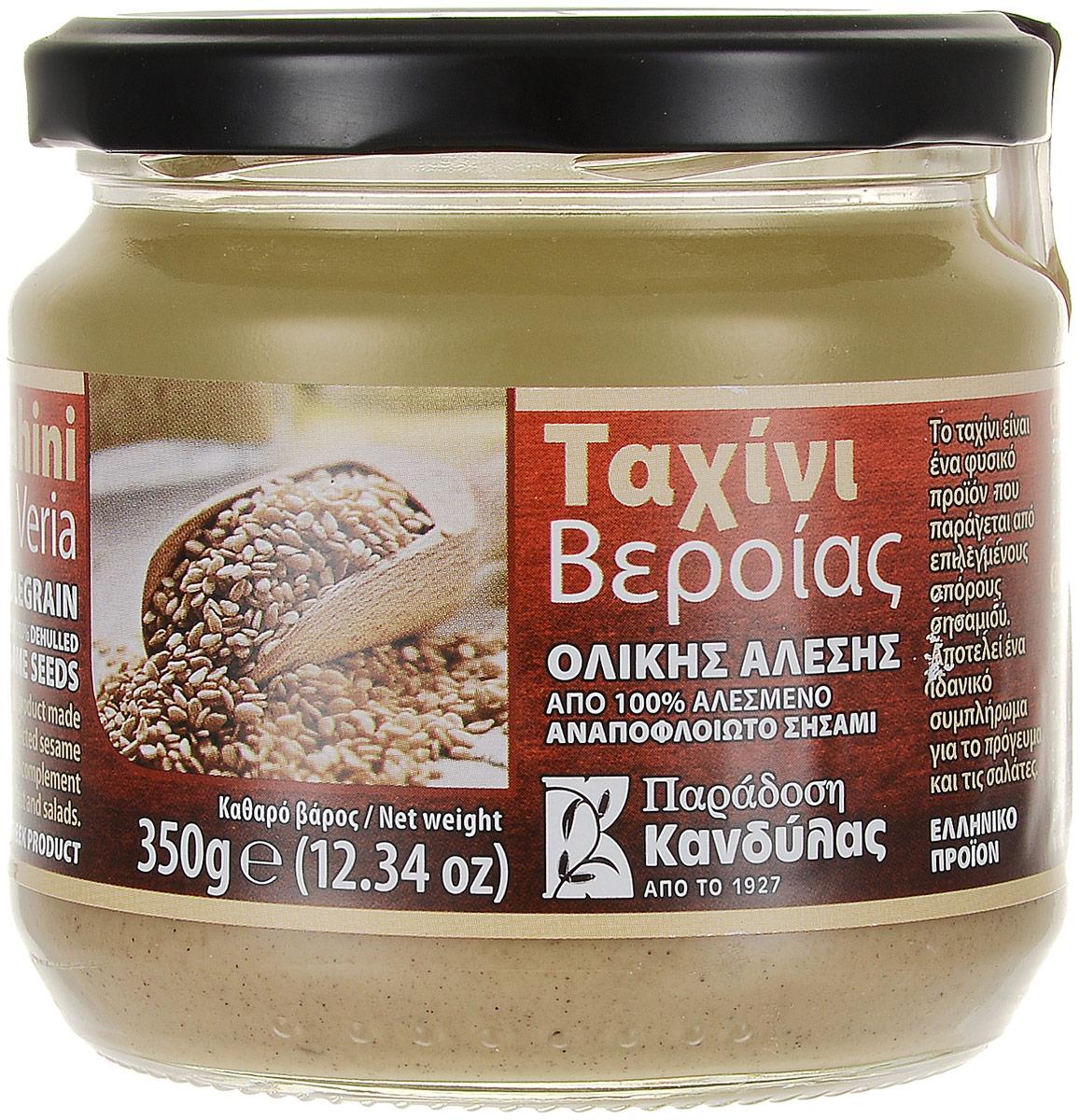 "Kandylas ""Тахини"" кунжутная паста грубого помола, 350 г 13.0023"