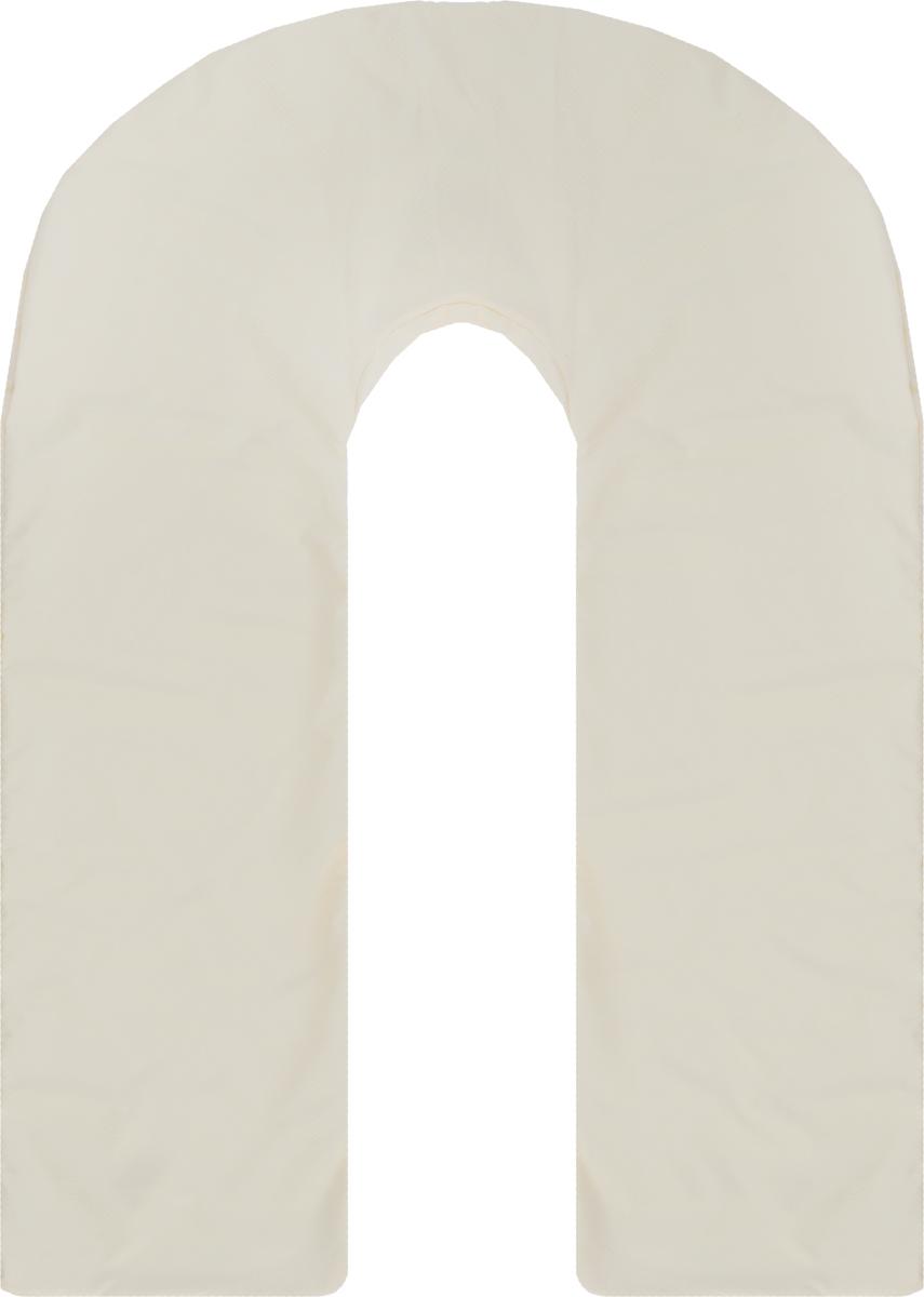 Body Pillow Чехол для подушки для беременных U-образный цвет бежевый