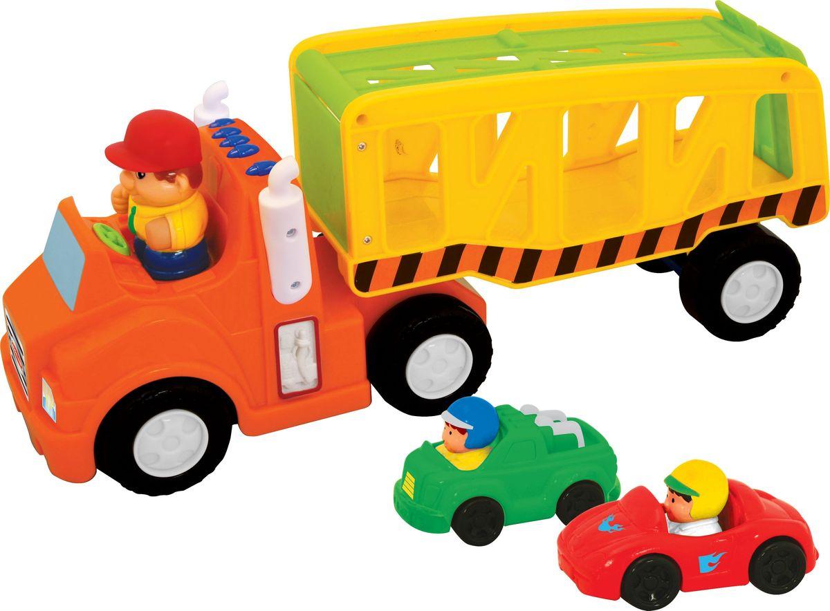 Kiddieland Развивающая игрушка Автоперевозчик kiddieland развивающая игрушка забавная камера