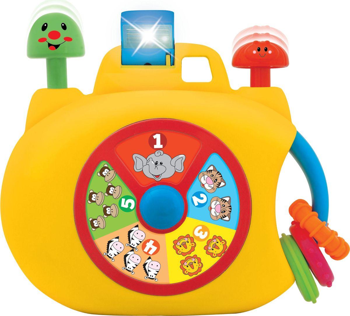 Kiddieland Развивающая игрушка Забавная камера kiddieland развивающая игрушка забавная камера