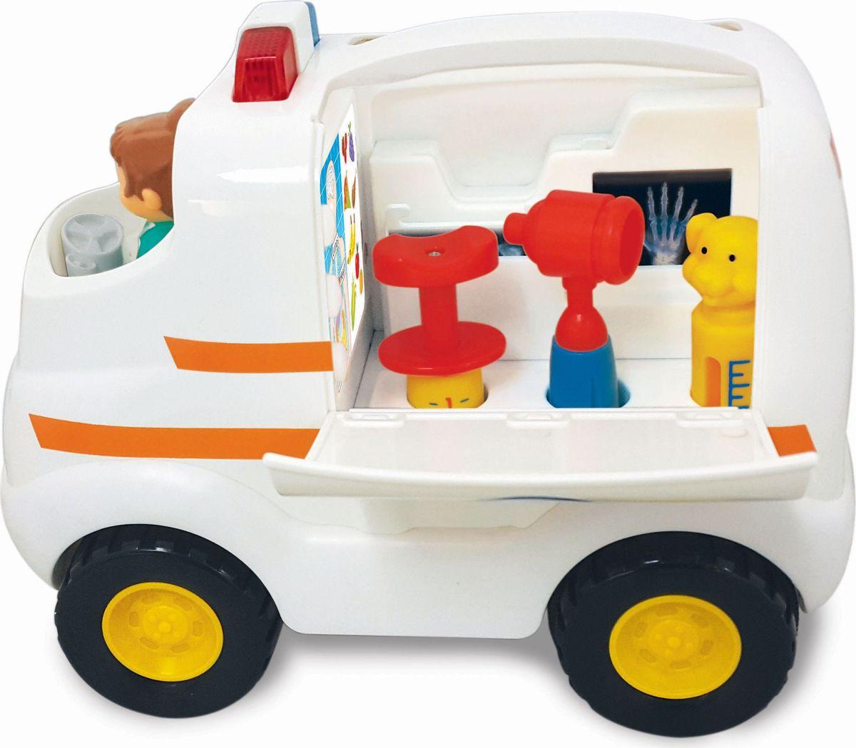 Kiddieland Развивающая игрушка Скорая помощь kiddieland развивающая игрушка забавная камера