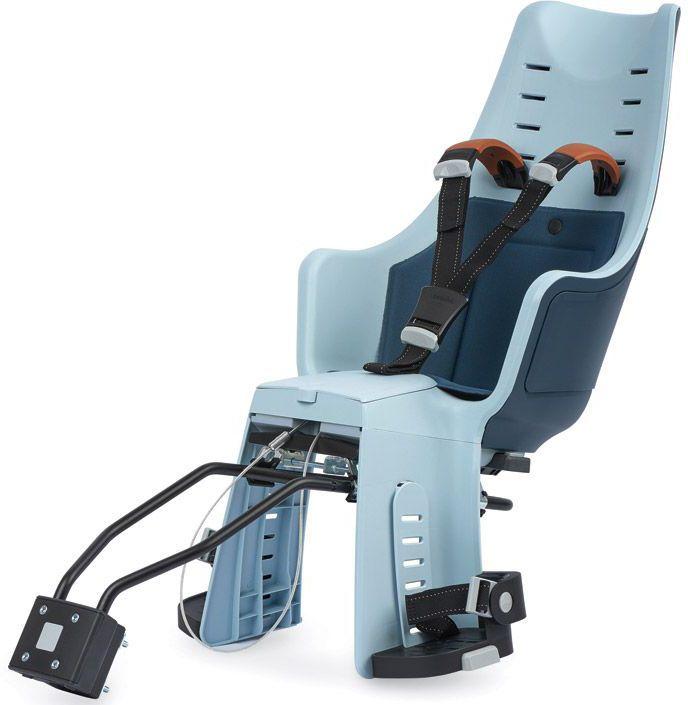 Велокресло заднее Bobike Exclusive Maxi 1P, крепление на раму и багажник велосипеда, цвет: синий8011100016С велокреслом BOBIKE Exclusive Maxi 1P Вы полюбите кататься с детьми. Наслаждайтесь природой, чувствуйте ветер в волосах и солнечные лучи на лице. Уникальная двухслойная конструкция кресла обеспечивает непревзойдённый уровень безопасности ребёнка. Кресло оборудовано регулируемыми по высоте мягкими нескользящими наплечными ремнями с надёжной застёжкой для удержания ребёнка в правильной позиции. BOBIKE Exclusive Maxi 1P оснащено подкладкой из водоотталкивающего материала. Система крепления Click & Go позволяет быстро и без инструментов установить и снять велокресло, а также переставить его между разными велосипедами. Для кратковременной стоянки у магазина или подъезда в комплектацию включён небольшой кодовый замок. BOBIKE Exclusive Maxi 1P устанавливается на подседельную трубу рамы диаметром от 28 до 40 мм или на багажник шириной от 120 до 175 мм. Велокресло предназначено для детей от 9 месяцев до 6 лет и весом до 22 кг. • Крепление на раму или багажник велосипеда • Нескользящие...