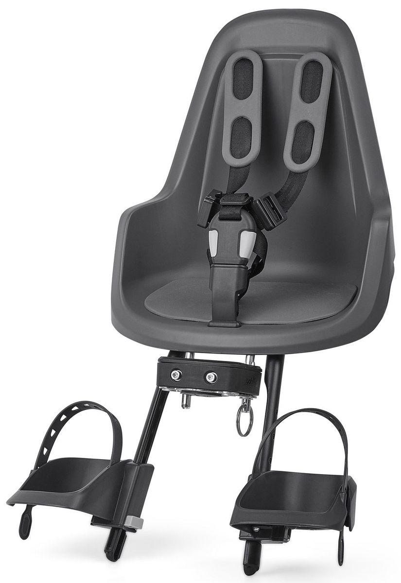 Велокресло переднее Bobike One Mini, крепление на руль, цвет: серый8012000003BOBIKE ONE Mini позволит исследовать город Вам и Вашему малышу по уникальному, и главное безопасному маршруту. Двухслойная конструкция кресла обеспечивает непревзойдённый уровень безопасности ребёнка. Кресло оборудовано мягкими нескользящими наплечными ремнями с надёжной застёжкой для удержания ребёнка в правильной позиции. BOBIKE ONE Mini оснащено водоотталкивающей гасящей вибрации подкладкой. Система крепления Click & Go позволяет быстро и без инструментов установить и снять велокресло, а также переставить его между разными велосипедами. Фронтальные кресла BOBIKE ONE Mini совместимы с интегрированными Выносами городских велосипедов диаметром от 22 до 35 мм и штоками вилок горных велосипедов диаметром 1,1/8 дюйма. • Крепление на руль • Нескользящие наплечные ремни с надёжной застёжкой • Подкладка из водоотталкивающего, гасящего вибрации материала • Регулируемые подножки, настраиваемые без инструментов • Шестигранник для установки кресла в комплекте •...