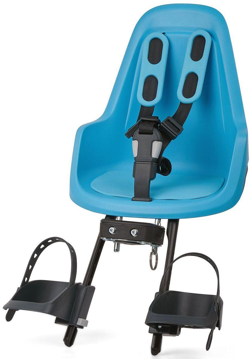 Велокресло переднее Bobike One Mini, крепление на руль, цвет: голубой8012000005BOBIKE ONE Mini позволит исследовать город Вам и Вашему малышу по уникальному, и главное безопасному маршруту. Двухслойная конструкция кресла обеспечивает непревзойдённый уровень безопасности ребёнка. Кресло оборудовано мягкими нескользящими наплечными ремнями с надёжной застёжкой для удержания ребёнка в правильной позиции. BOBIKE ONE Mini оснащено водоотталкивающей гасящей вибрации подкладкой. Система крепления Click & Go позволяет быстро и без инструментов установить и снять велокресло, а также переставить его между разными велосипедами. Фронтальные кресла BOBIKE ONE Mini совместимы с интегрированными Выносами городских велосипедов диаметром от 22 до 35 мм и штоками вилок горных велосипедов диаметром 1,1/8 дюйма. • Крепление на руль • Нескользящие наплечные ремни с надёжной застёжкой • Подкладка из водоотталкивающего, гасящего вибрации материала • Регулируемые подножки, настраиваемые без инструментов • Шестигранник для установки кресла в комплекте •...