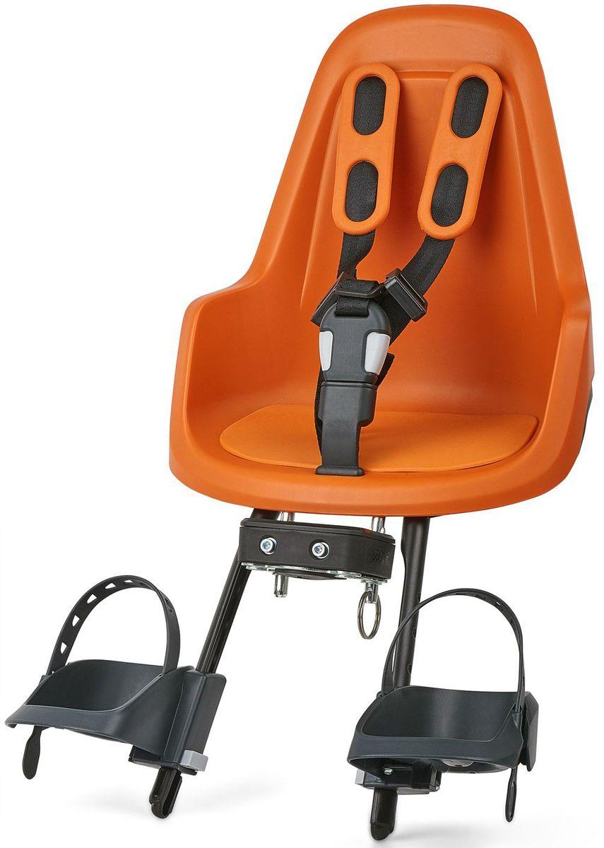 Велокресло переднее Bobike One Mini, крепление на руль, цвет: оранжевый8012000007BOBIKE ONE Mini позволит исследовать город Вам и Вашему малышу по уникальному, и главное безопасному маршруту. Двухслойная конструкция кресла обеспечивает непревзойдённый уровень безопасности ребёнка. Кресло оборудовано мягкими нескользящими наплечными ремнями с надёжной застёжкой для удержания ребёнка в правильной позиции. BOBIKE ONE Mini оснащено водоотталкивающей гасящей вибрации подкладкой. Система крепления Click & Go позволяет быстро и без инструментов установить и снять велокресло, а также переставить его между разными велосипедами. Фронтальные кресла BOBIKE ONE Mini совместимы с интегрированными Выносами городских велосипедов диаметром от 22 до 35 мм и штоками вилок горных велосипедов диаметром 1,1/8 дюйма. • Крепление на руль • Нескользящие наплечные ремни с надёжной застёжкой • Подкладка из водоотталкивающего, гасящего вибрации материала • Регулируемые подножки, настраиваемые без инструментов • Шестигранник для установки кресла в комплекте •...