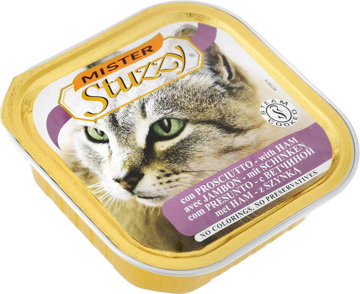 "Stuzzy / Штуззи Консервы для кошек Stuzzy ""Mister"", с ветчиной, 100 г 131.C208"