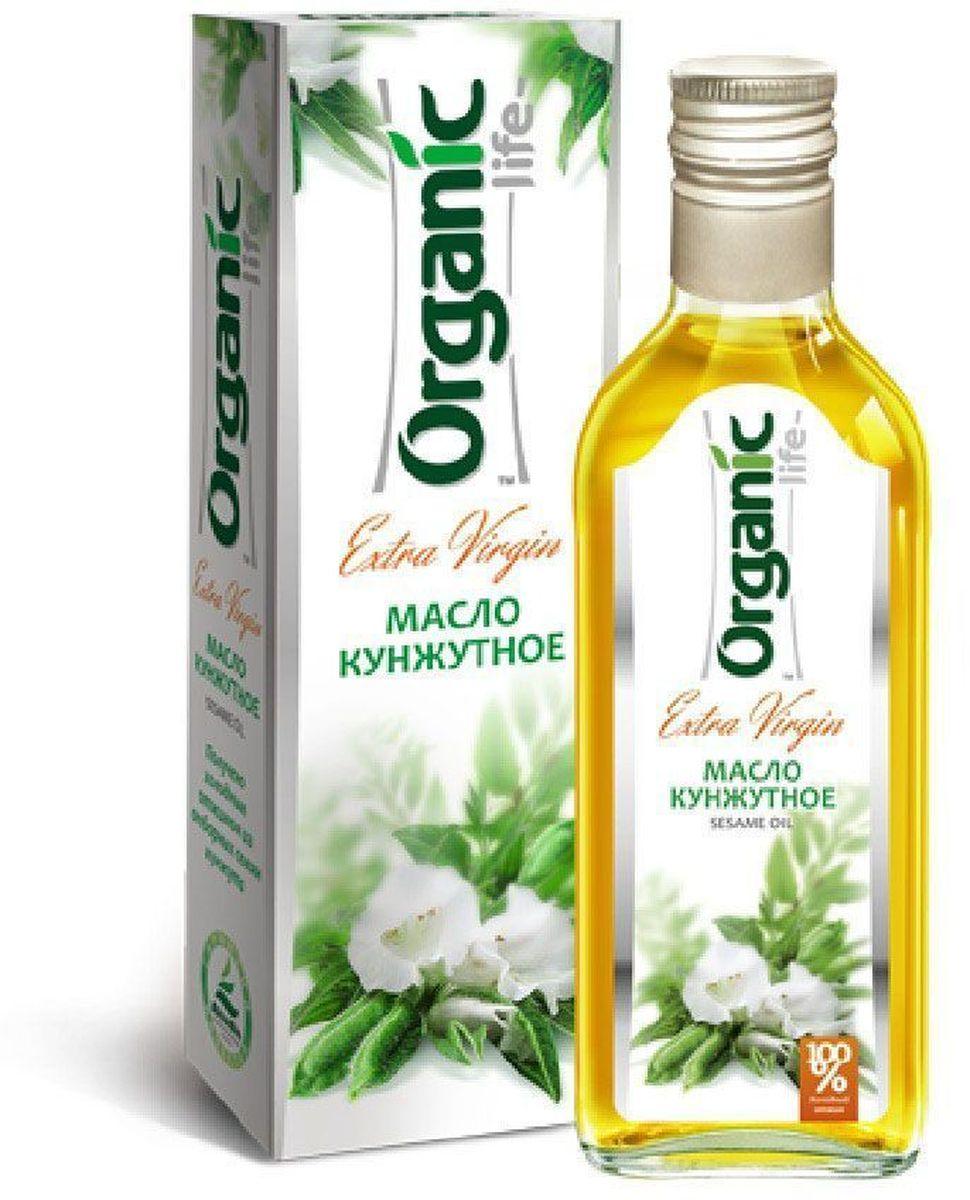 Organic Life масло кунжутное, 250 мл